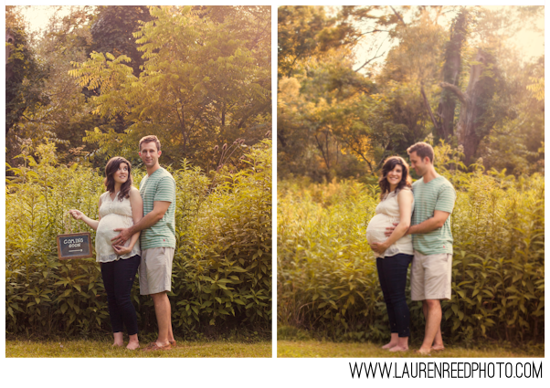 Holly & Brad Outdoor Maternity Session