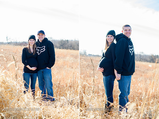 Cassie & Matt Latrobe Maternity Session
